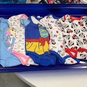 Disney onesie bundle